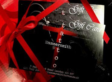 The Hammersmith Tattoo gift card